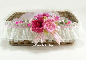 韓国婚礼用のバスケット(果物用/料理用/お餅用)■basket-1-s【ギフト】