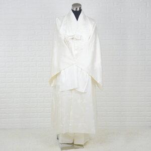韓国葬儀用衣装男性用チョゴリ・シルク高級寿衣フルセット[アイボリー]