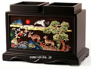 韓国手刺繍ペン立て十長生図■pencase-4-s【ギフト】【お土産】