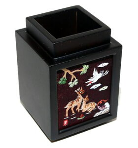 韓国手刺繍ペン立て十長生図■pencase-9-s【ギフト】【お土産】
