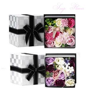 Q-FLA クルールバスフレL ボックス ソープフラワー 入浴剤 プレゼント ギフト 写真立て 女性 おしゃれ 花 インテリア 退職祝 結婚祝い