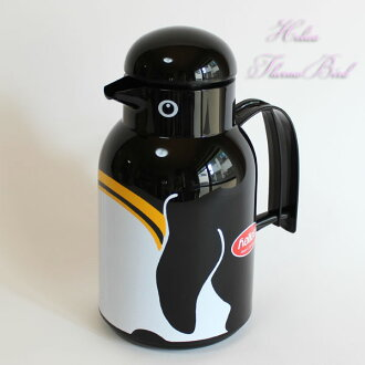 Pot Thermos Bard Penguin HELIOS  = Germany-helios thermos  vacuum bottle 1.0L 1 litter cool hot  tabletop =