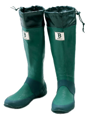 Wild Bird 野鳥の会 長靴 / GREEN バードウォッチング