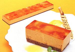 フリーカットケーキ キャラメル 510g×1枚 業務用冷凍ケーキ(U)(TKBS)【Cool delivery】