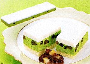 フリーカットケーキ レア抹茶 500g 業務用冷凍ケーキ(U)