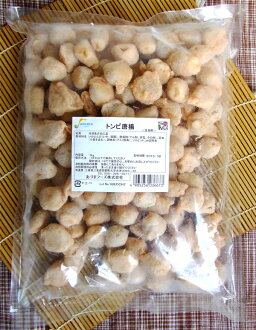 The fried chicken of the bill of the black kite 唐揚 1 kg - とんび cuttlefish. (TKBS) [05P20Sep14/0