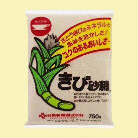 【4点購入で送料無料】日新製糖 カップ印 きび砂糖 750g