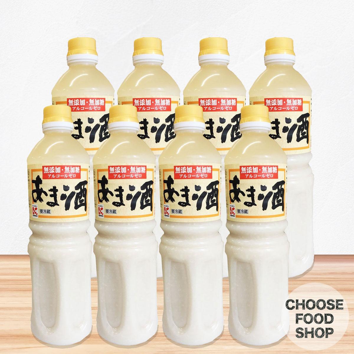 かねこみそ 無添加・無加糖 あま酒 1000ml×8本【ペットボトル】アルコールゼロ