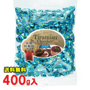 常温便 ティラミスチョコレート ココア 400g袋 ユウカ 業務用 大袋【全国送料無料】