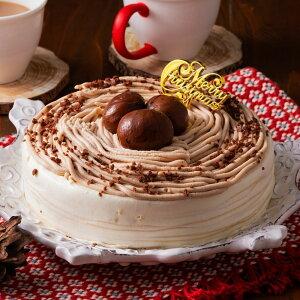 クリスマス お歳暮 モンブラン ミルクレープ ケーキ 5号