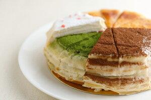 クリスマス 誕生日 誕生日ケーキ ホールケーキ カットケーキ スイーツ プレゼント ギフト ミルクレープ ミルクレープ6種食べ比べセット12個入り 季節(モンブラン)限定入り 送料無料