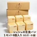 シュシュズベーカリー シュシュの生食パン 1セット6コ入 (0.5斤(9.5cm×9.5cm)×6コ) 冷凍 食パン 生食パン…