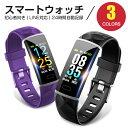「2019年新型」itDEAL スマートウォッチ 血圧 日本語 iphone 対応 android 対応 line 対応 活動量計 心拍計 血圧計 歩…