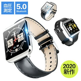 「2020年最新 1.54インチ大画面 Bluetooth5.0」itDEAL スマートウォッチ 血圧 フルタッチ操作 着信通知 睡眠検測 活動量計 心拍計 歩数計 時計 音楽製御 天気予報 リストバンド 腕時計 メンズ レディース ビジネス iphone 対応 android 対応 line 対応