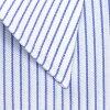NEW size long sleeves, regular colored shirt blues tripe, cotton 100% form stability /CHOYA shirt Choya SHIRT FACTORY(cfd220-451) [convenience store receipt-adaptive product] [the Rakuten card division]