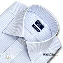 【日清紡アポロコット】長袖・ドビーストライプ・ワイドカラーシャツ・綿100%形態安定・CHOYAシャツCHOYA SHIRT FACT…