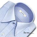 【SHIRT MAKER CHOYA】長袖・日本製生地・形態安定加工・吸水速乾・標準体ブルードビー・スナップダウン・ドレスシャツ -SMC-(ビジネスシャツ/ワイシャツ/百貨店/メンズ)(cmd316