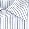 LORDSON cotton 100% form stability processing standard body pencil stripe wide color dress shirt (zod901-450) [convenience store receipt-adaptive product] [the Rakuten card division]