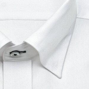 renomaPARIS長袖ワイシャツメンズ春夏秋冬ロヤルオックスフォードスナップダウン|綿:100%ホワイト形態安定加工(zrd881-200)