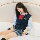 コスプレ セクシー 制服 シャツ スカートベスト リボン コスプレ 制服 女子高生 コスチューム 衣装 可愛い かわいい …