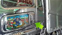 FUSO 新型スーパーグレート  助手席側 ハンドルベース&ドアハンドルセット★高級クロームメッキ仕様★