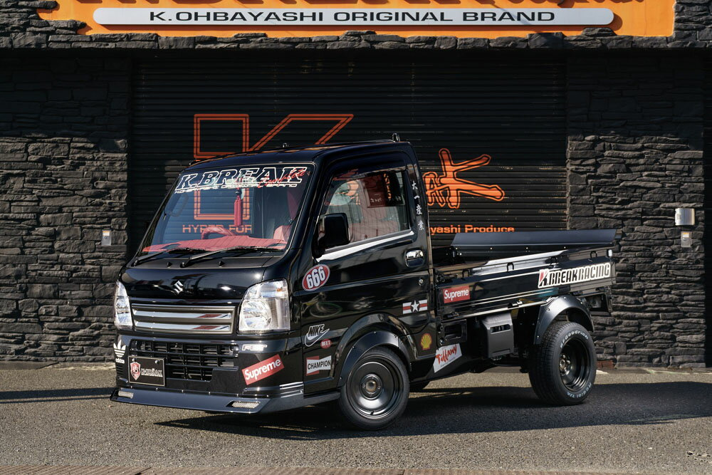 キャリイトラック 16T オーバーフェンダー(フロント単品) K.BREAKRACING K-BREAK/ケイブレイク