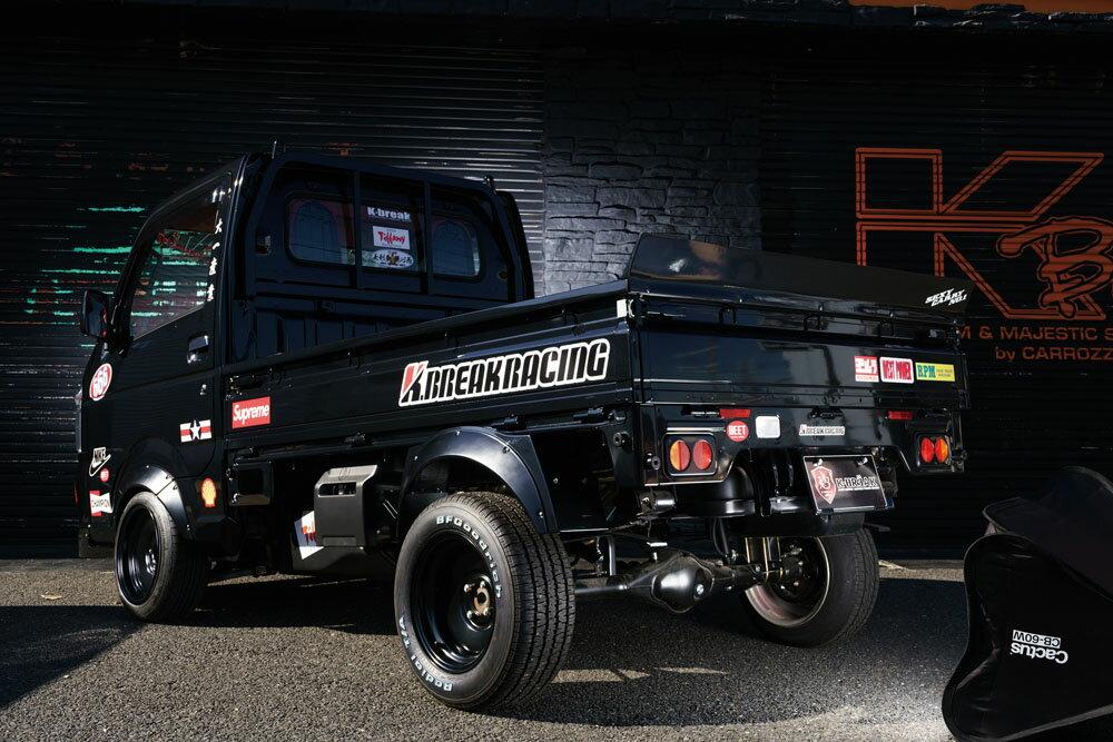 キャリイトラック 16T オーバーフェンダー(リア単品) K.BREAKRACING K-BREAK/ケイブレイク