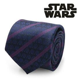 ◎ネクタイ シルク Various Licensed Darth Vader Imperial Stripe Men's Tie スターウォーズ ダースベイダー レジメンタル ストライプ ネクタイ SW-DVHST-PL-TR