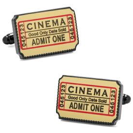 ◎カフス カフリンクス カフスボタン CinemaTicketCufflinksシネマチケットCC-TCKT-BK