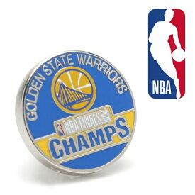 ◎ラペル ラペルピン スーツ 襟 2018 Golden State Warriors NBA Champions Lapel Pin ゴールデン ステイト ウォリアーズ 2018 NBAチャンピオン バスケットボール PD-GS18-LP