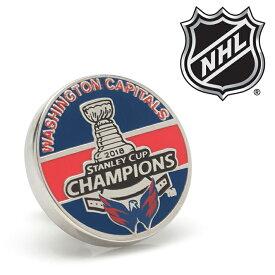 ◎ラペル ラペルピン スーツ 襟 2018 Washingt on Capitals Stanley Cup Champions Lapel Pin ワシントン キャピタルズ 2018 スタンレーカップ チャンピオン PD-CPT18-LP