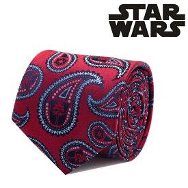 ネクタイ メンズ 紳士 シルク Darth Vader Red Paisley Tie スターウォーズ ダースベイダー ペイズリー SW-DVPS2-RD-TR レッド