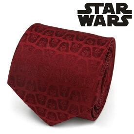 ネクタイ メンズ 紳士 シルク Darth Vader Red Men's Tie スターウォーズ ダースベイダー SW-VDR-RD-TR レッド