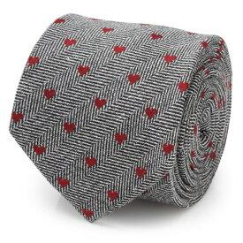 【リネン素材】ハート柄 ネクタイ メンズ 紳士 Herringbone Heart Men's Tie ヘリンボーン ハート ラブ CC-HRTHB-TR バレンタイン プレゼント 贈り物 父の日 クリスマス