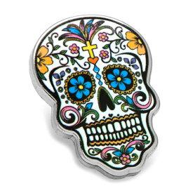 ◎アクセサリー ラペル ラペルピン スーツ 襟 Various Licensed Day of the Dead Skull Lapel Pin メキシコ 死者の日 スカル ドクロ カラフル CC-DODS-LP