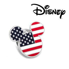 ◎アクセサリー ラペル ラペルピン スーツ 襟 Various Licensed Starsand Stripes Mickey Mouse Lapel Pin ミッキーマウス ディズニー ミッキーマーク シルエット アメリカ DN-MUSA-LP