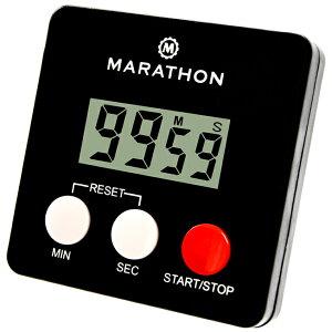 キッチンタイマー MARATHON タイマー 100分 電池付 TI080006 マラソン