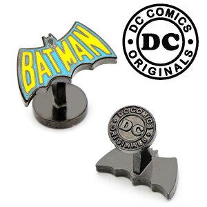 アクセサリー カフス カフリンクス カフスボタン Various Licensed Vintage Batman Cufflinks バットマン バットロゴ バットシグナル DC ロゴ アメコミ レトロ 1960年代 ヴィンテージ DC-BAT-VTG