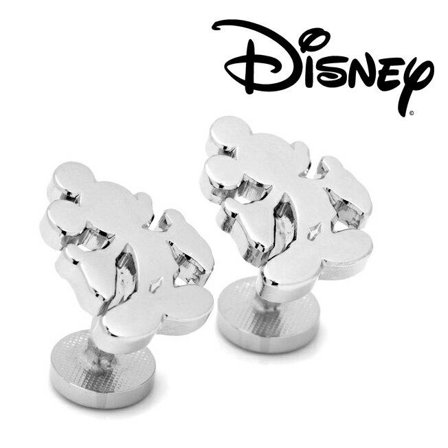 アクセサリー カフス カフリンクス カフスボタン Various Licensed Silver Mickey Mouse Silhouette Cufflinks ミッキー マウス ディズニー ミッキーマーク シルエット シルバー DN-MSILH2-SL
