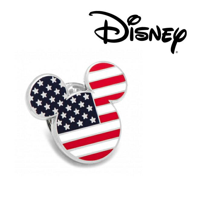 アクセサリー ラペル ラペルピン スーツ 襟 Various Licensed Stars and Stripes Mickey Mouse Lapel Pin ミッキー マウス ディズニー ミッキーマーク シルエット アメリカ DN-MUSA-LP