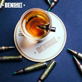 BENSHOT ベンショット Shot glass ショットグラス アメリカ ASA 1.5oz(44ml) 米国製ハンドメイド