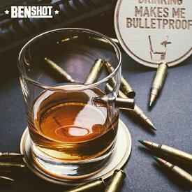 BENSHOT ベンショット Whisky glass ウィスキーグラス 11oz(325ml) ワイングラス(443ml) 米国製 ハンドメイド ウイスキーグラス 宅飲み