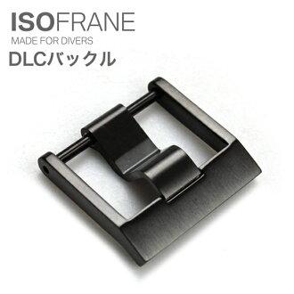 ◆ ISOFRANE イソフレーン RS DLC 버클 블랙 고리 20.22 mm