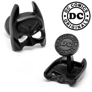 アクセサリー カフス カフリンクス カフスボタン Various Licensed Satin Black Classic Batman Mask Cufflinks バットマンマスク
