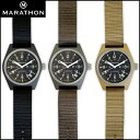 時計 腕時計 ミリタリーウォッチ アメリカ軍 MARATHON General Purpose Field Watch Date マラソン ジェネラルパーパ…