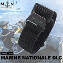 バネ棒付き 時計 ベルト 腕時計 バンド フランス MN STRAP MARINE NATIONAL BLACK OPS DLC マリーンナショナル MNスト…