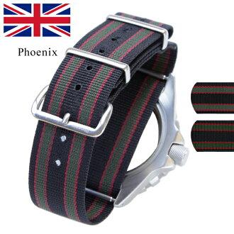 ◆钟表皮带/带18mm2 0mm2供制造James Bond2010 RAF式样手表使用的钟表2mm