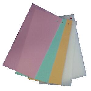 取替簡単チェンジ君(替まな板セット4枚付) Y3-15 600×300×15mm まな板 業務用 カラー