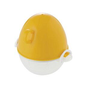 ezegg レンジでゆでたまご 1個用 オレンジ 電子レンジ 調理器具