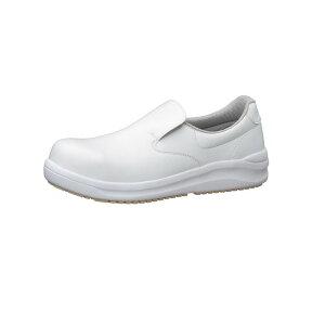 ハイグリップ耐滑安全靴NHS600 30cm 白 コックシューズ  厨房用シューズ